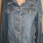 Джинсовый пиджак Yessica (Йессика) 42-44, смотрим замеры.