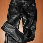 крутые джинсы из кожзама размер ххс