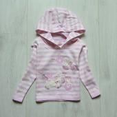 Нежная тоненькая кофта с капюшоном для маленькой модницы. Early Days. Размер 6-9 месяцев