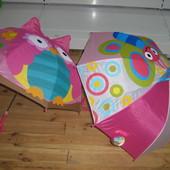 Зонт грибок 3D с усиленными спицами. Зонтик детский 10 расцветок