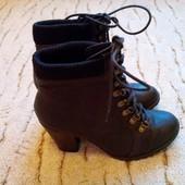 ботинки женские демисезонные, 40р, стелька 25,5см