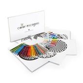 Crayola Калейдоскопы - раскраски 12 листов, 50 карандашей, 12 маркеров