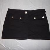 XS-S, поб 42-44, юбка джинсовая стрейч R&B ультра мини