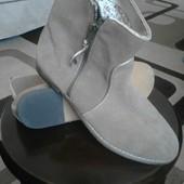 Стильные замшевые ботинки от redoute creation