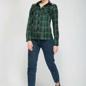 Рубашка с кружевной кокеткой BARE