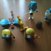 Игрушки с Mcdonalds 9 шт