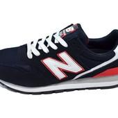 Мужские кроссовки new balance nb5 черные с красным (реплика)