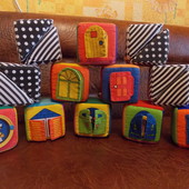 Мягкие кубики  K's Kids (Ка'c Кидс)