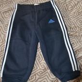 спортивные штаны Adidas оригинал на флисе рост 86 см  в идеале!