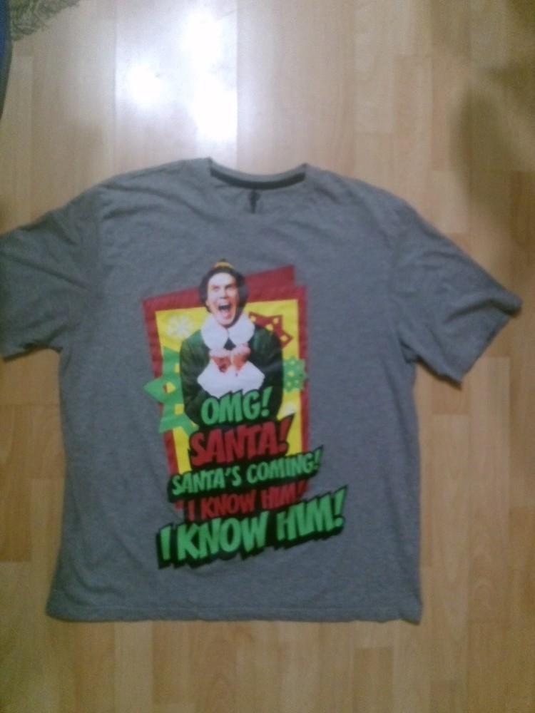 Фирменная футболка XL фото №1