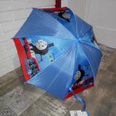 Mothercare новый зонт зонтик с принтом паравозик Томас синий