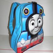 Mothercare новый рюкзак 3-6 лет с принтом паравозик Томас синий