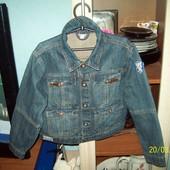Джинсовая куртка рост 122 см