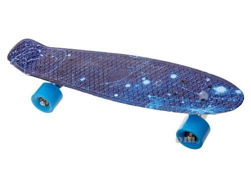 Скейт пенни борд 54 см. колеса PU фото №1