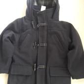 Стильное пальто на мальчика 3-4года