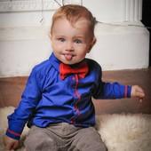 Красивые рубашки для мальчишек, модель Энрико. Индивидуальный пошив