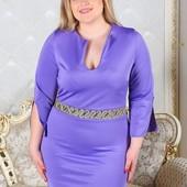 Размеры 48-54 Женское платье весна-лето 2017