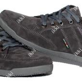 40 и 42 р Серые демисезонные кроссовки для мужчин (БЛ-04ср)