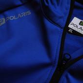 Мужская вело кофта термик синий теплая со светоотражателями Polaris XL L