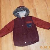Демисезонная куртка Next для мальчика 18-24 месяцев, 86-92 см