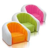 Велюр кресло 68597 детское 3 цвета 69-56-48 см