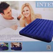 Надувной матрас Intex 68759 интекс(152х203х22см)