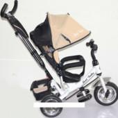 Велосипед трехколесный Best Trike eva 6588 Бежевый
