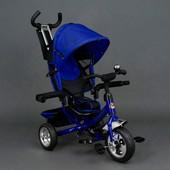 Велосипед трехколесный Best Trike eva 6588 Синий