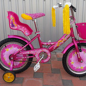Детский двухколесный велосипед Азимут Гел Azimut Girls 14 16 18 20 дюймов