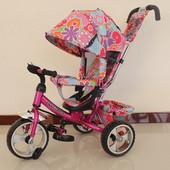 Детский  трехколесный велосипед Tilly Trike T-344-1