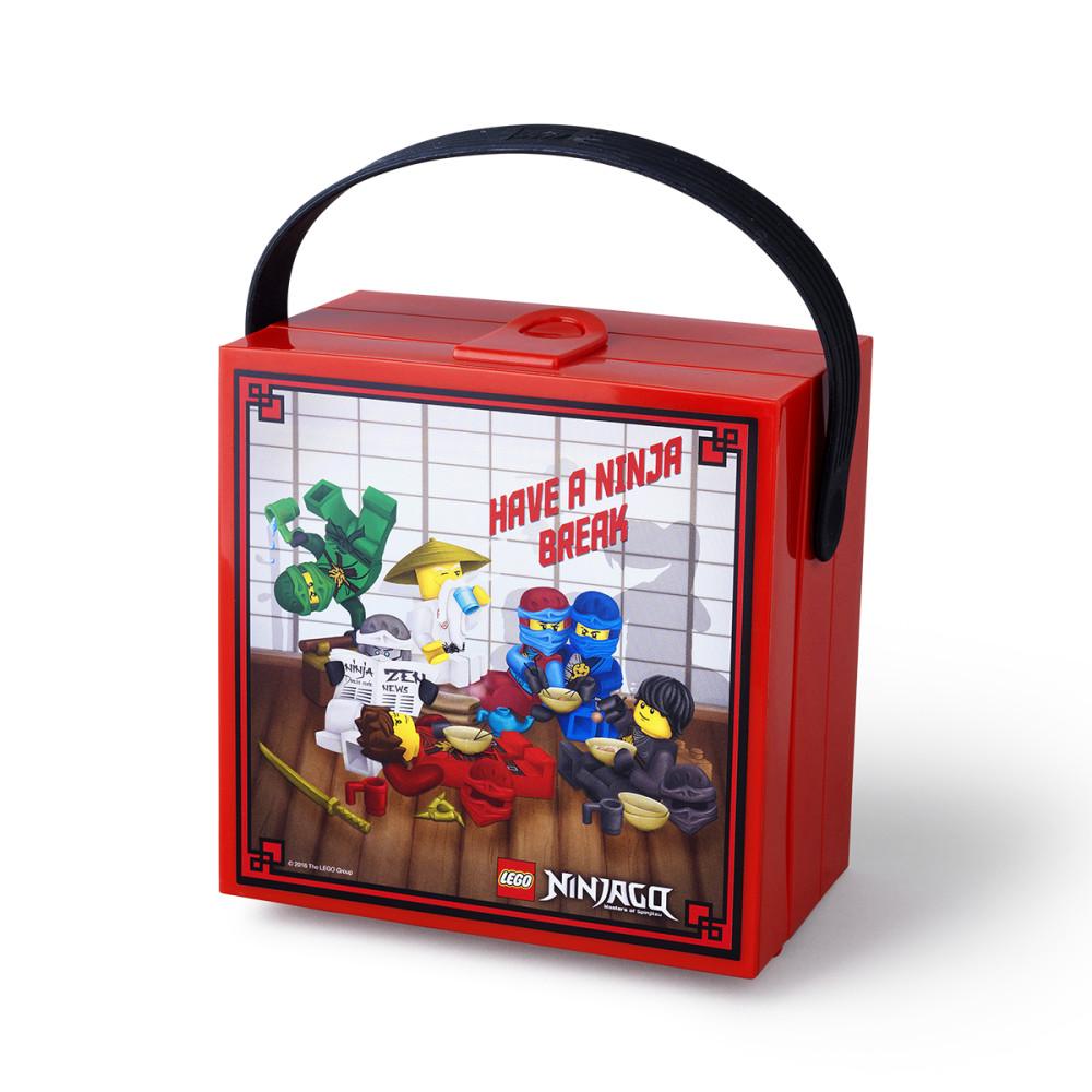 Ланч-бокс Лего Ниндзяго с ручкой 3,1 л 40511733 фото №1