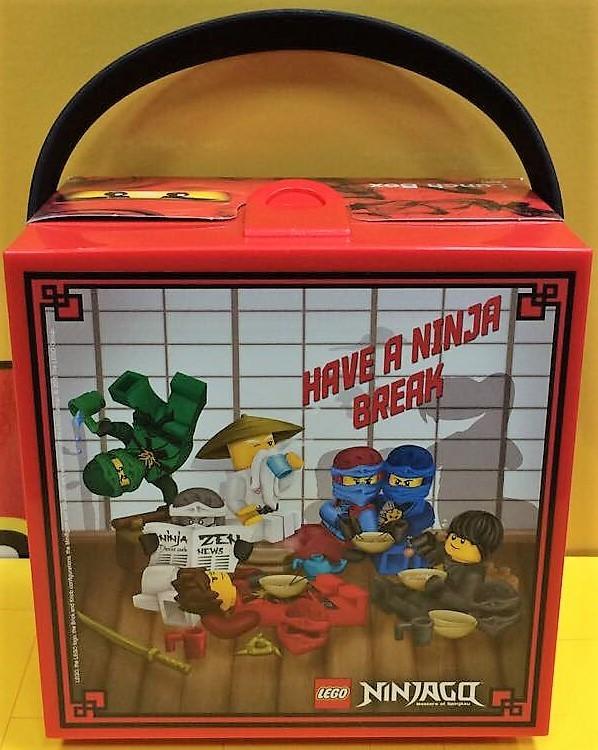 Ланч-бокс Лего Ниндзяго с ручкой 3,1 л 40511733 фото №2