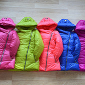 Куртки-косухи демисезонные для девочек-Хиты продаж!