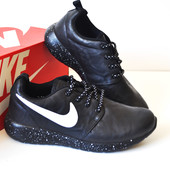 Кроссовки Nike Roshe Run Galaxy black 36-40р