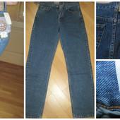 Новые  джинсы с высокой талией, прямые, Турция, р.30 новые, качество