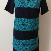 Платье прямого кроя с принтом boohoo