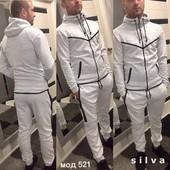 Спортивный мужской костюм! Ткань меланжированный трикотаж , двухнитка петля, размеры : 42-44;44-46:4