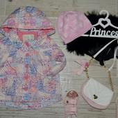 Обалденный плащ пальто ветровка для девочки 12 - 18 месяцев 80 - 86 см