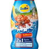Детский шампунь-гель для душа 2в1 Saubar 250мл из Германии