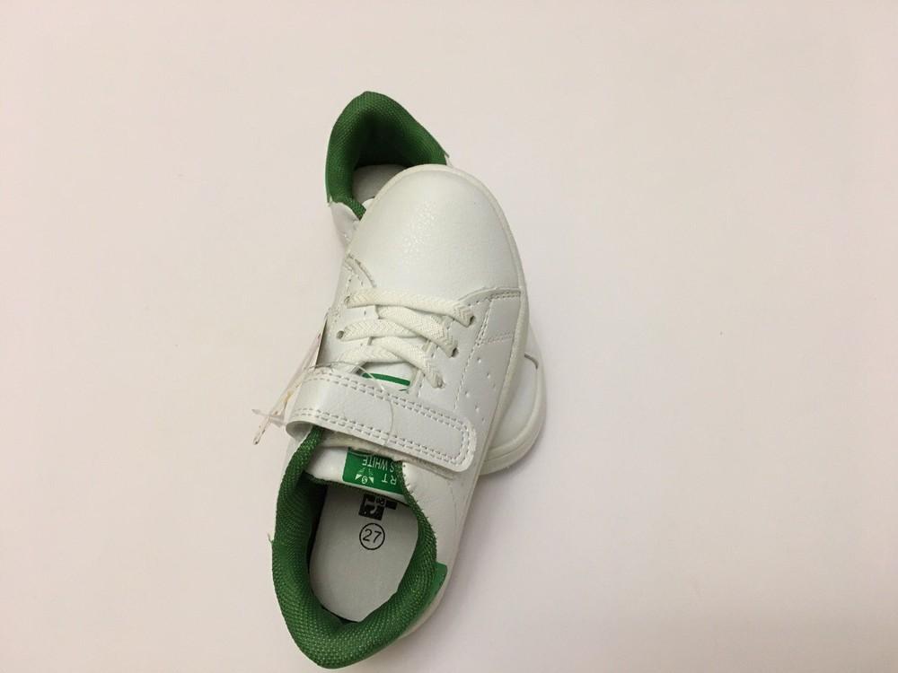 Кеды, кроссовки белые для мальчика и девочки фото №9