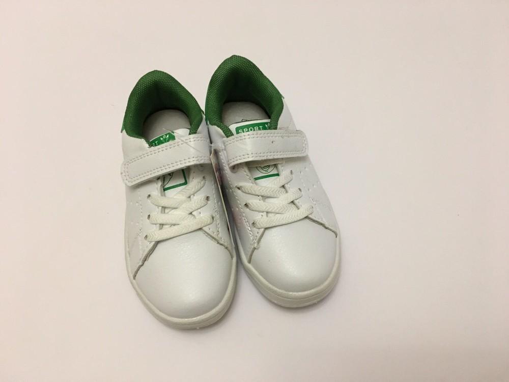 Кеды, кроссовки белые для мальчика и девочки фото №10