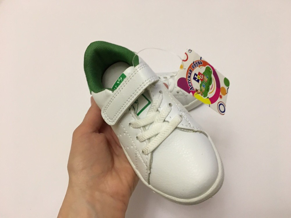 Кеды, кроссовки белые для мальчика и девочки фото №11