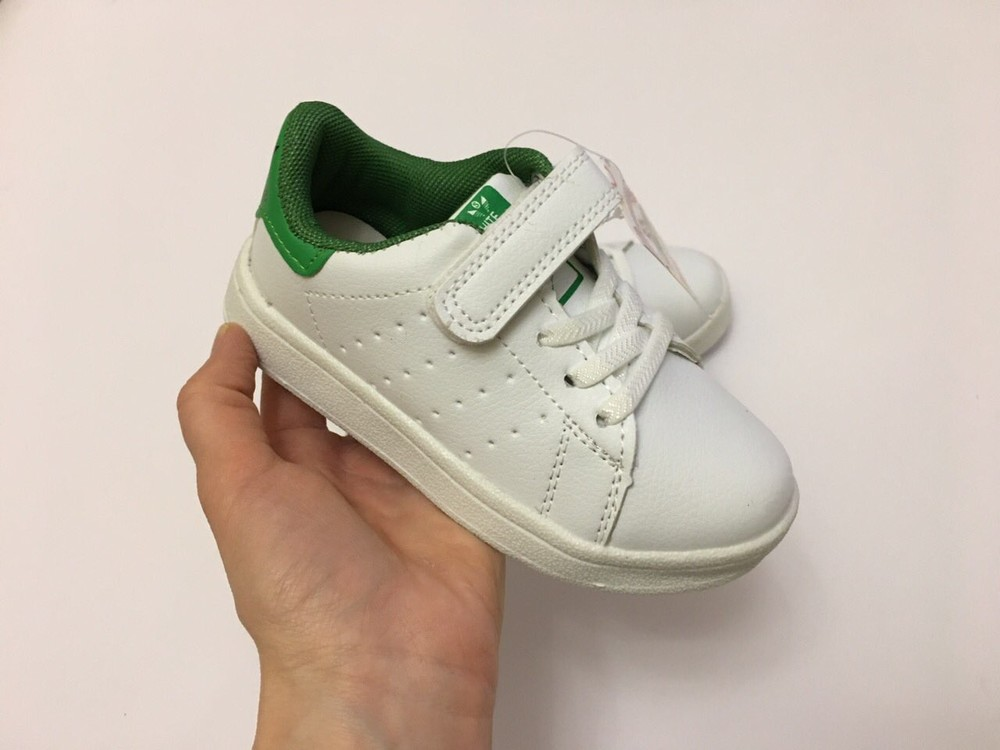 Кеды, кроссовки белые для мальчика и девочки фото №12