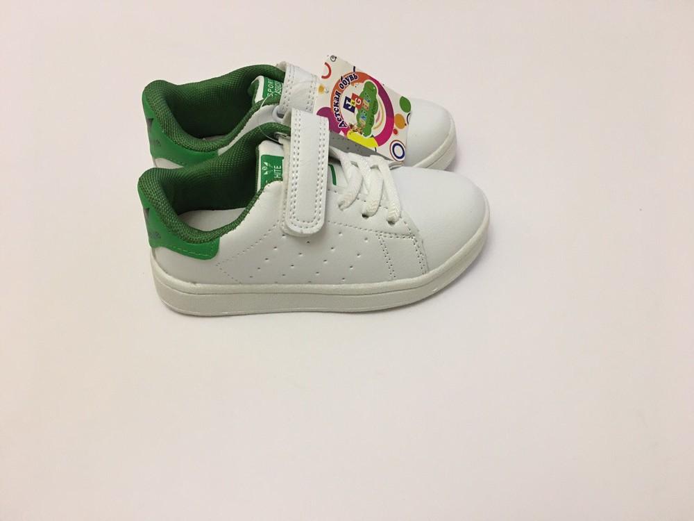 Кеды, кроссовки белые для мальчика и девочки фото №3