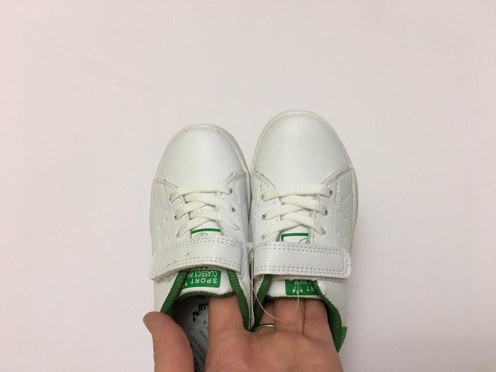 Кеды, кроссовки белые для мальчика и девочки фото №5