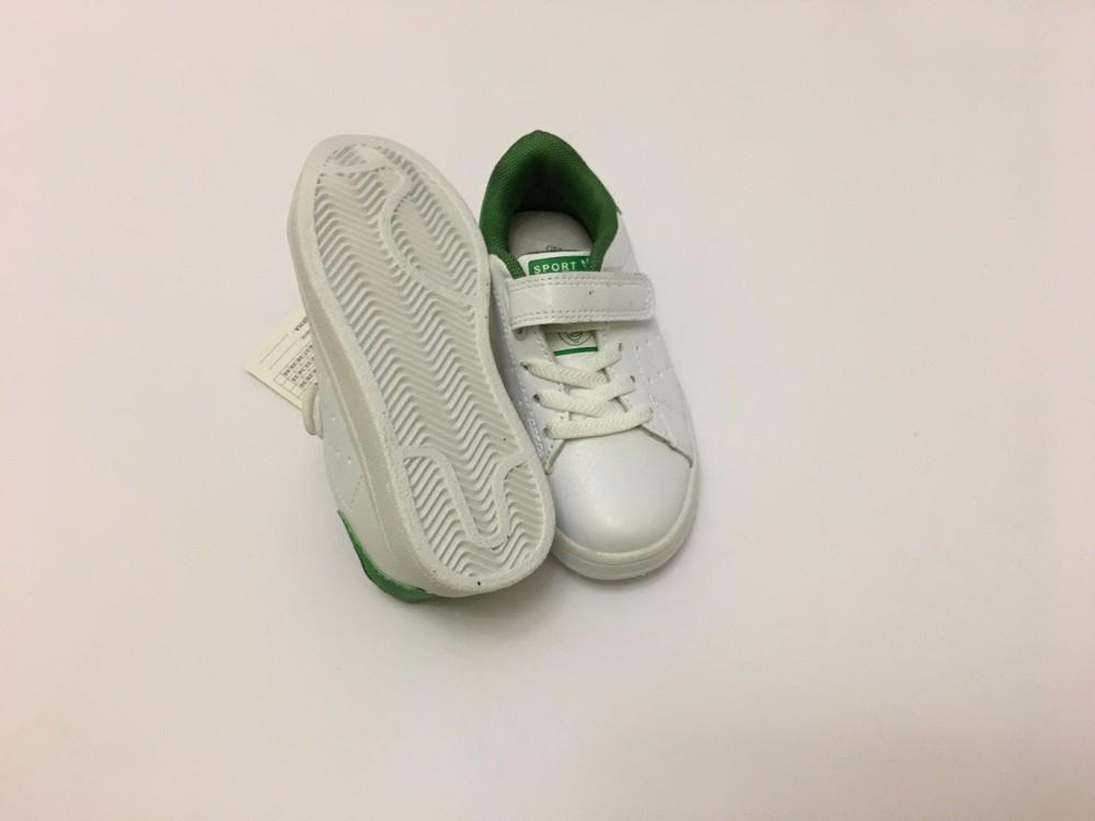 Кеды, кроссовки белые для мальчика и девочки фото №7