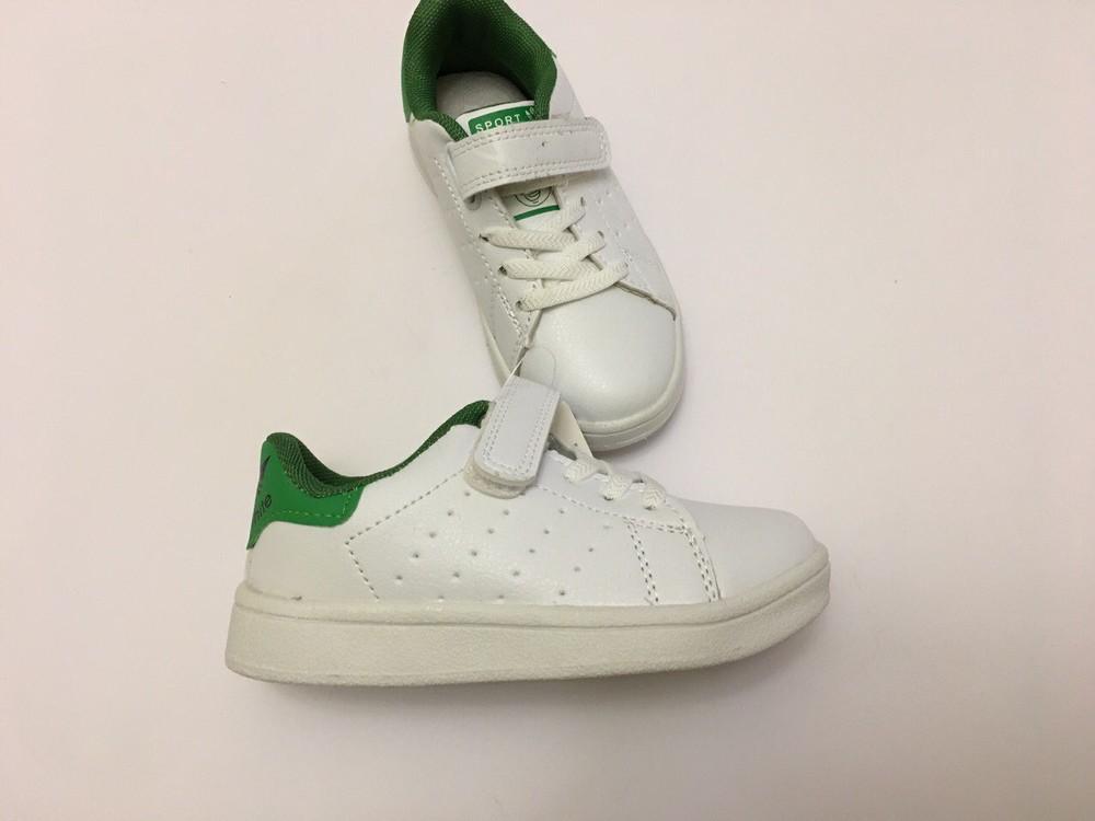 Кеды, кроссовки белые для мальчика и девочки фото №8