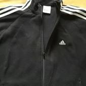 Флисовая кофта Adidas ClimaWarm оригинал р.48-50М