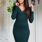 Элегантное женское платье весна-лето 2017