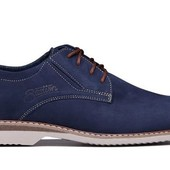 Стильные молодежные туфли из натуральной кожи (161с)